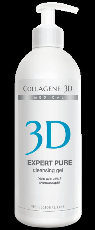 Collagene 3D Гель для Лица Очищающий Expert Pure, 500 мл