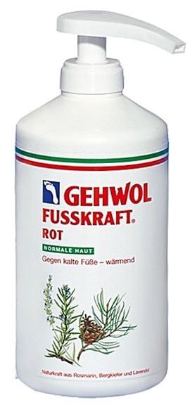 GEHWOL Gehwol Красный Бальзам (Fusskraft Red), 500 мл gehwol gehwol соль для ванны с маслом розмарина 10 пакетиков