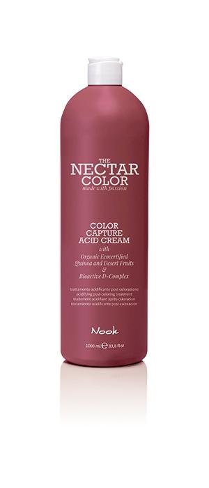 Nook Крем Фиксирующий для Волос после Окрашивания Color Capture Acid Cream / Acidifying Post-Colouring Treatment , 1000 мл