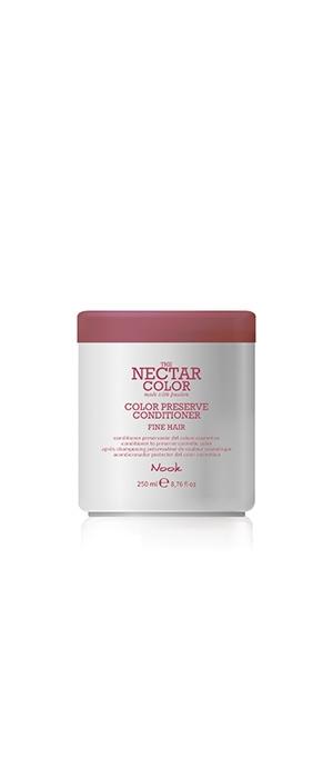 Nook Кондиционер для Ухода за Тонкими Окрашенными Волосами Color Preserve Conditioner / Fine Hair to Preserve Cosmetic Color , 250 мл