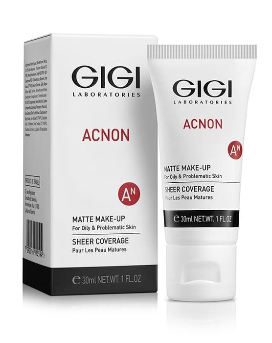 GIGI Крем-Тон AN Matte Makeup Матирующий, 30 мл
