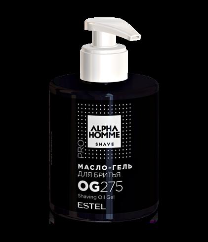 ESTEL Масло-Гель Alpha Homme Pro для Бритья, 275 мл гель крем для лица alpha homme genwood hydro 50мл