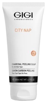 GIGI Мыло-Скраб Карбоновое Charcoal Peeling Soap, 200 мл мыло скраб twin lotus мыло скраб