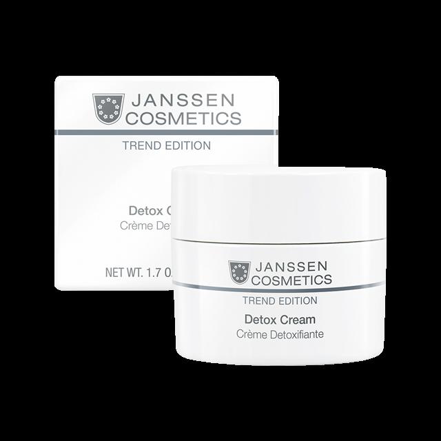 Janssen Детокс-Крем Антиоксидантный Skin Detox Cream, 50 мл крем janssen cosmetics detox cream