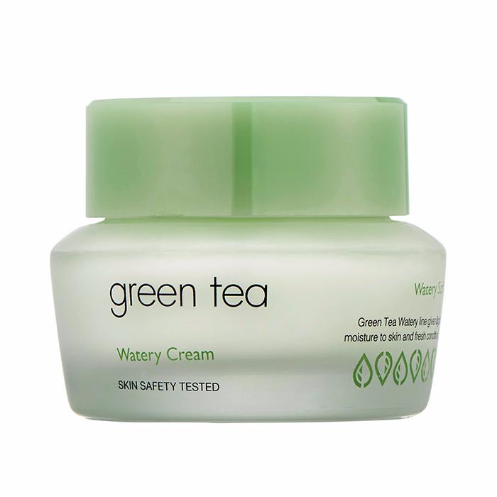 It's Skin Крем Green Tea Watery Cream для Жирной и Комбинированной Кожи с зЗеленым Чаем, 50 мл it s skin тонер green tea watery