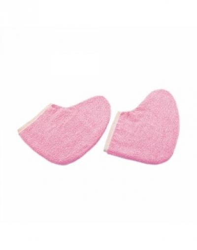 IGRObeauty Утеплители Махровые Удля Ног Цвет: Розовый, 1 пара