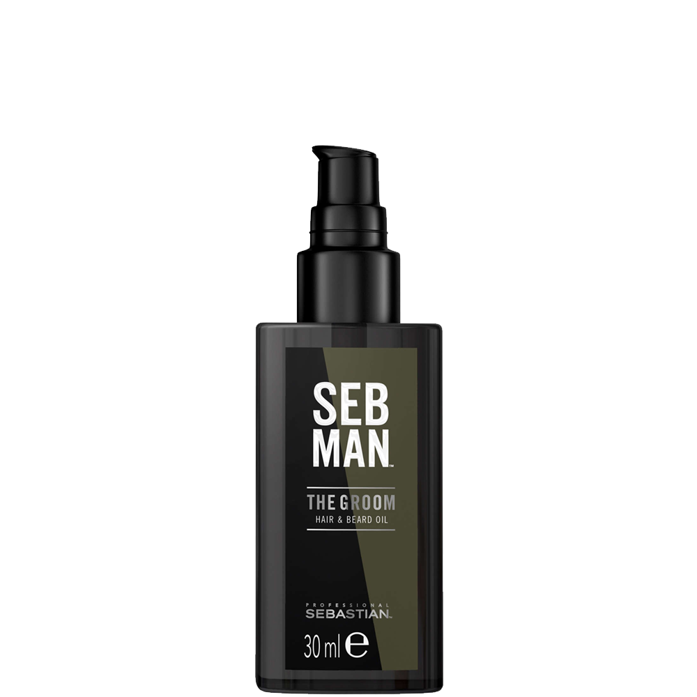 Sebastian Men Масло для Ухода за Волосами и Бородой The Groom, 30 мл
