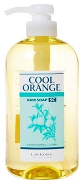 Lebel Cosmetics Cool Orange Sc Hair Soap (Шампунь «Супер Холодный Апельсин»), 600 мл