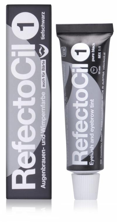Refectocil Краска Eyelash & Eyebrow Color для Бровей и Ресниц № 1 Черная, 15 мл