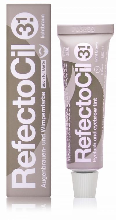 Refectocil Краска Eyelash & Eyebrow Color для Бровей и Ресниц Светло-Коричневая № 3.1, 15 мл