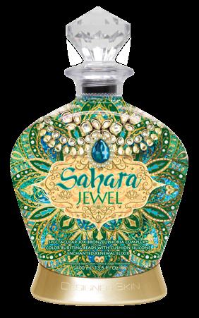 Designer Skin 30Х Преображающий Лосьон-Активатор с Уникальным Бронзирующим Комплексом Sahara Jewel, 400 мл