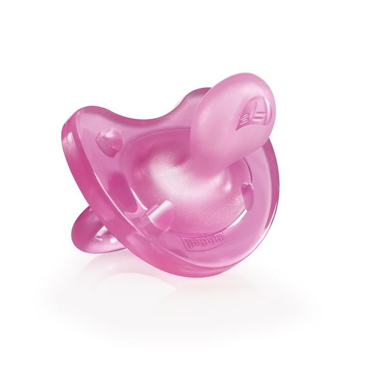 цена на CHICCO Пустышка Physio Soft, 1 шт., 6-12 мес.+ Силикон, Розовая