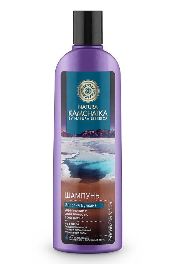 Natura Siberica Шампунь Kamchatka Энергия Вулкана Укрепление и Сила Волос, 280 мл