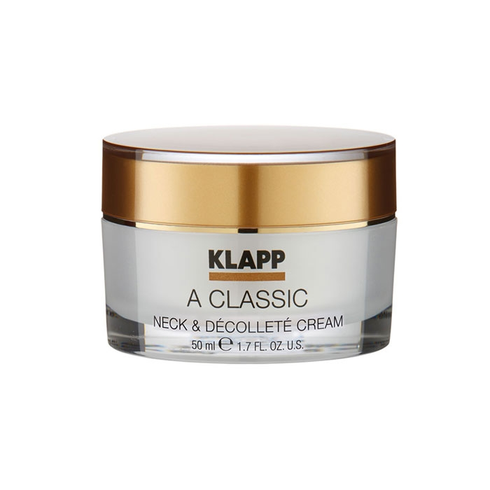 Klapp Крем A Classic Neck & Decollete Cream для Шеи и Декольте, 50 мл крем лифтинг для шеи и декольте