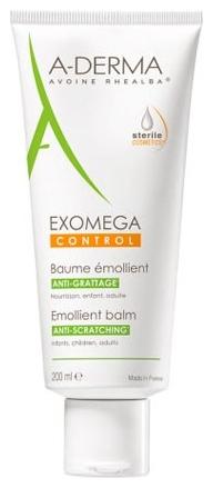 A-Derma Бальзам  Exomega Control Смягчающий Экзомега, 200 мл а дерма экзомега крем