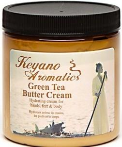 Keyano Aromatics Крем Зеленый Чай, 236 мл
