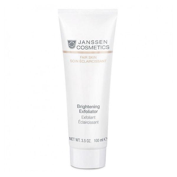 цена Janssen Пилинг-Крем Brightening Exfoliator для Выравнивания Цвета Лица, 10 мл онлайн в 2017 году