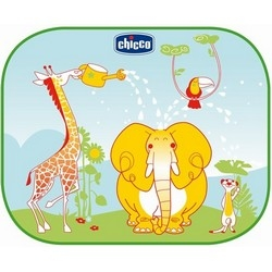 CHICCO Защитные Шторки для Автомобиля Safe на Присосках с Рисунком, Сумка в Комплекте