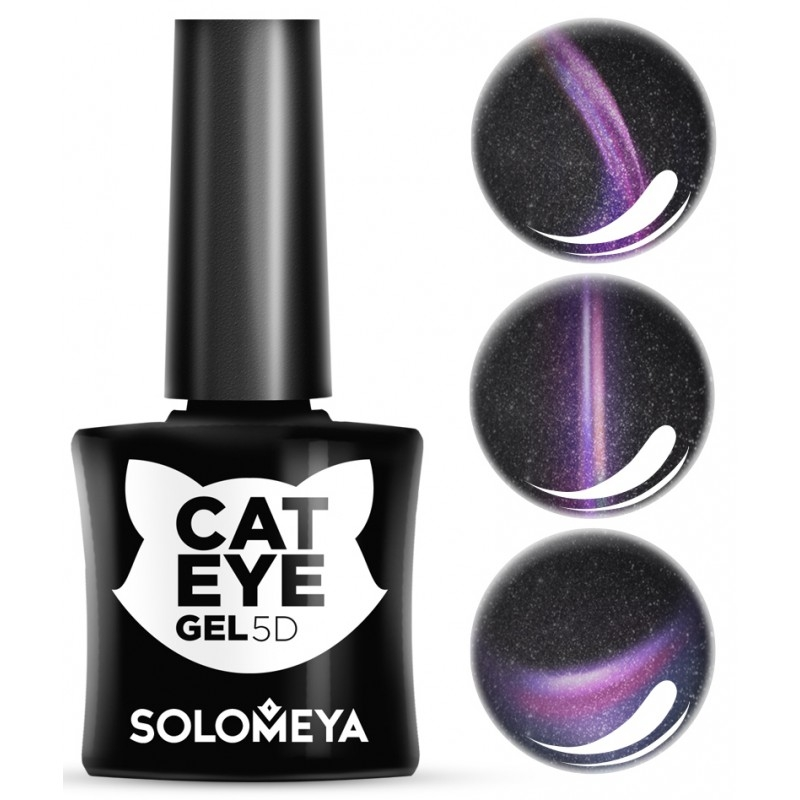 Solomeya Гель-Лак Vip Cat Eye Persian Кошачий Глаз Перс 4/ 5D, 5 мл