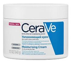 CeraVe Крем Увлажняющий для Сухой Кожи Лица и Тела, 340 мл крема для сухой кожи