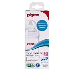 Pigeon Бутылочка для Кормления Перистальтик Плюс, 240 мл