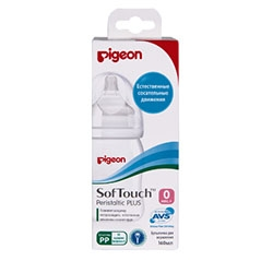 цена на Pigeon Бутылочка для Кормления Перистальтик Плюс, 240 мл