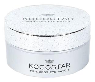 Kocostar Патчи Princess Eye Patch Silver Гидрогелевые для Глаз Серебро, 60 Патчей