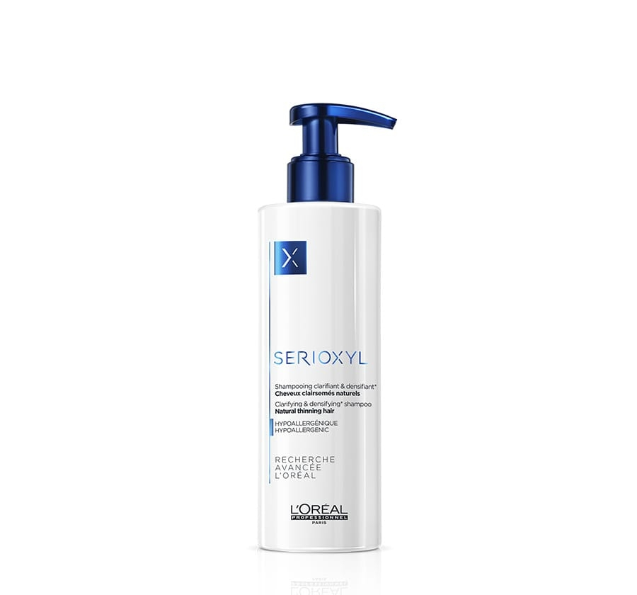 L'Oreal Professionnel Шампунь для Натуральных Волос Serioxyl, 250 мл l oreal professionnel serioxyl fuller hair 2 набор для окрашенных волос 250х250х125 мл