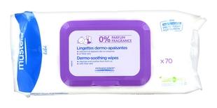 Mustela Салфетки Lingettes Dermo-Apaisantes Очищающие Успокаивающие №70 Бебе мустела бебе гель