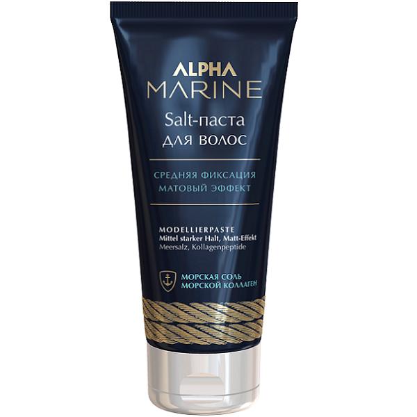 ESTEL Salt-Паста Alpha Marine для Волос с Матовым Эффектом, 100 мл salt паста для волос с матовым эффектом alpha marine 100мл