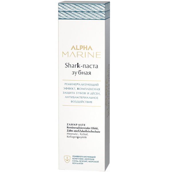 ESTEL Shark-Паста Alpha Marine Зубная, 90 мл salt паста для волос с матовым эффектом alpha marine 100мл
