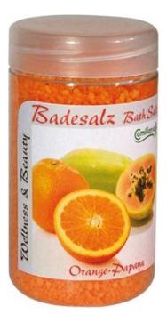 Camillen 60 Соль Badesalz Orange-Papaya для Ножных Ванн Апельсин и Папайя, 350 мл