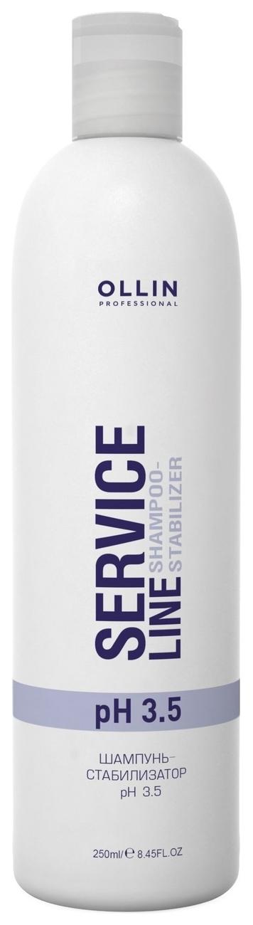 OLLIN PROFESSIONAL SERVICE LINE Шампунь-Стабилизатор Shampoo-Stabilizer pH 3.5, 250 мл