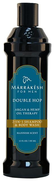 Marrakesh Шампунь/Гель для Душа 2 в 1 Double Hop, 355 мл