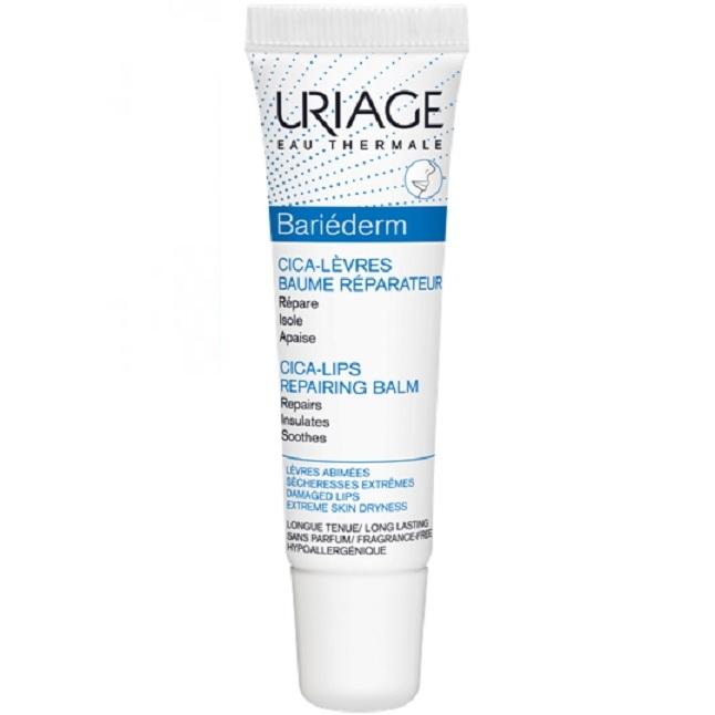 Uriage Цика-Бальзам Bariederm Защищающий для Губ Тюбик, 15 мл барьедерм цика крем купить в аптеке