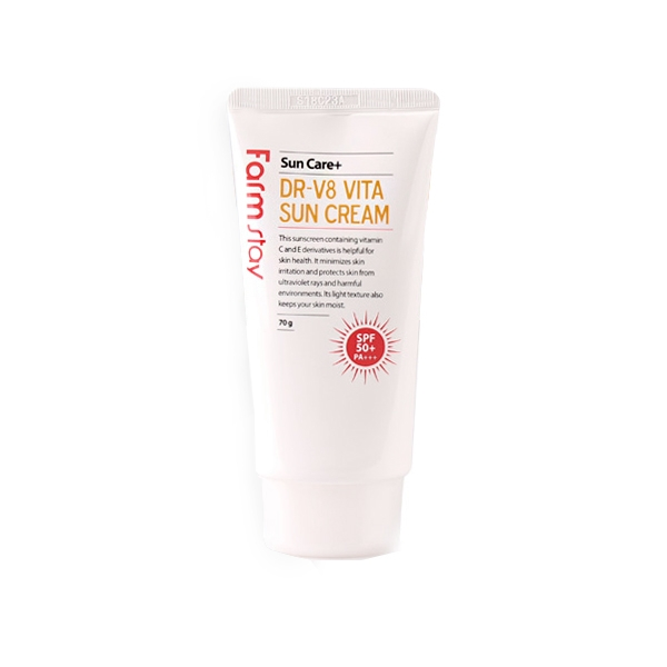 FarmStay Витаминизированный Солнцезащитный Крем SPF 50+/PA+++ Vita Sun Cream, 70г