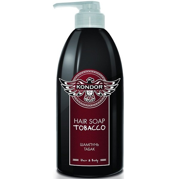 KONDOR Шампунь Hair Soap Tobacco Табак, 750 мл kondor шампунь hair soap tobacco табак 750 мл