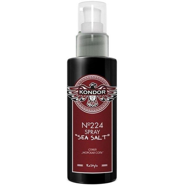 Фото - KONDOR Спрей Sea Salt Spray для укладки волос Морская соль, 100 мл спрей для укладки волос impermeable anti humidity spray спрей 75мл