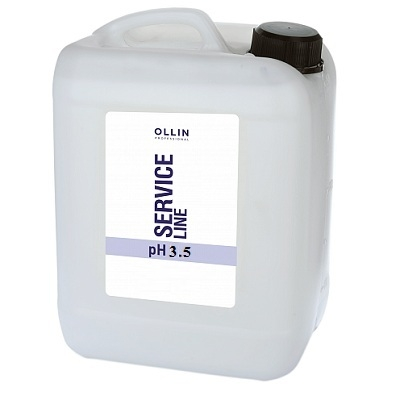 OLLIN PROFESSIONAL SERVICE LINE Шампунь-Стабилизатор Shampoo-Stabilizer pH 3.5, 5000 мл