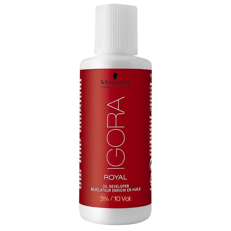 Schwarzkopf Igora Royal Мини-Лосьон-окислитель 3%, 60 мл schwarzkopf professional sp igora royal лосьон окислитель для волос 3 6 9 12% sp igora royal лосьон окислитель 6% 60 мл