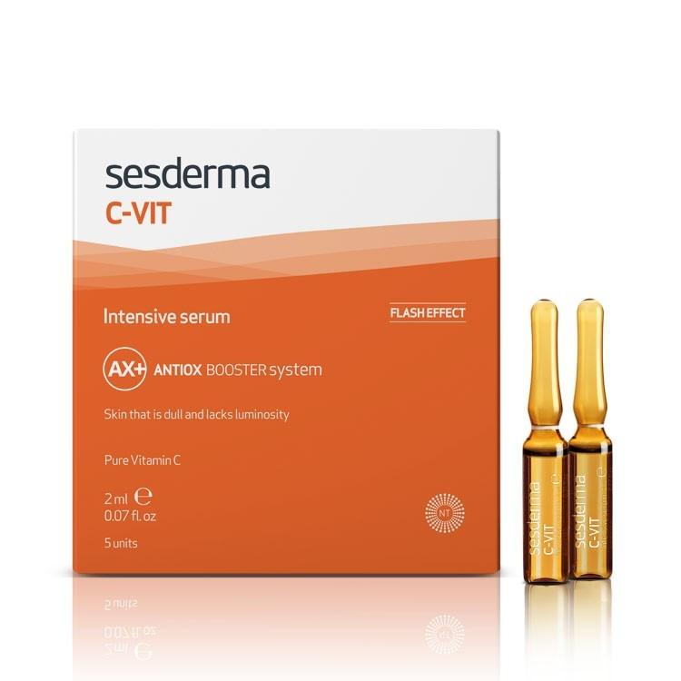 Sesderma Сыворотка C-Vit Intensive Serum Интенсивная 12%, 5 шт*2 мл sesderma cывороткаc vit serum реактивирующая 5шт 7 мл