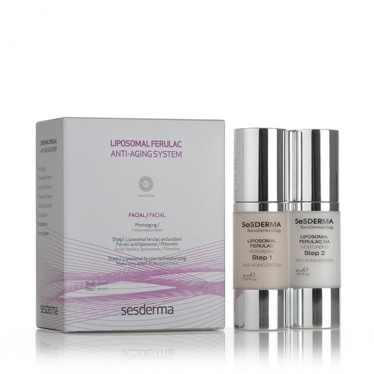 Sesderma Система Ferulac Liposomal Anti-Aging System Омолаживающая, 30 мл +
