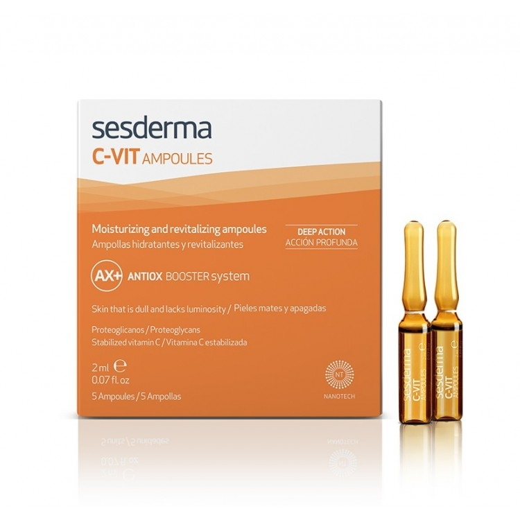 Sesderma Средство в Ампулах с Витамином С C-VIT, 5шт*2 мл sesderma c vit liposome serum 30ml