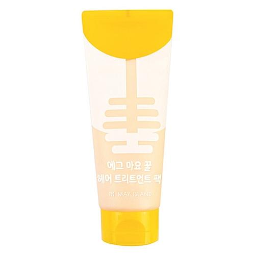 May Island Маска Еgg Mayonnaise Honey Hair Treatment Pack для Волос Яичная, 200 мл four reasons маска для волос toning treatment coffee 200 мл