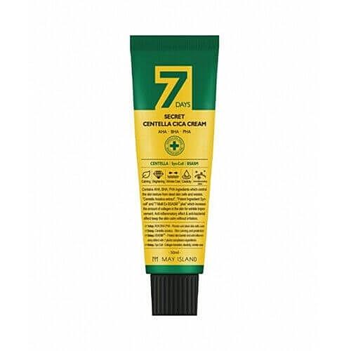 May Island Крем 7 Days Secret Centella Cica Cream для Проблемной Кожи Восстанавливающий, 50 мл недорого