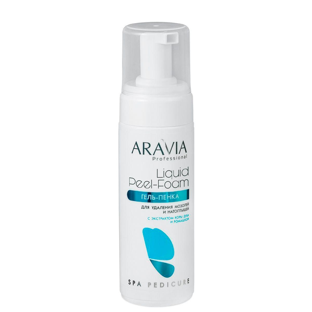 ARAVIA Гель-Пенка для Удаления Мозолей и Натоптышей Liquid Peel-Foam, 160 мл недорого