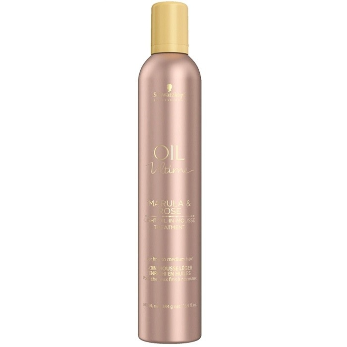 Schwarzkopf Маска-Мусс Oil Ultime Lignt-Oil-in-Mousse, 500 мл schwarzkopf маска мусс oil ultime lignt oil in mousse 500 мл