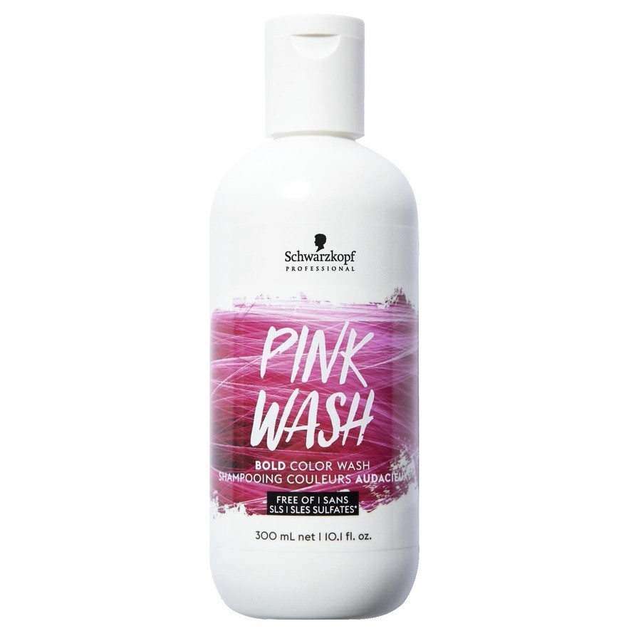 Schwarzkopf Тонер для Волос Розовый ColorWash Pink, 300 мл schwarzkopf professional тонирующее средство для волос colorwash 300 мл 4 цвета 300 мл фиолетовый