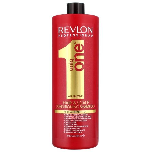 REVLON Шампунь-Кондиционер для Волос Uniq One, 1000 мл
