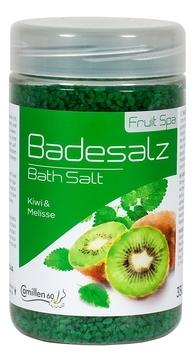 Camillen 60 Соль Badesalz Kiwi-Melisse для Ножных Ванн Киви и Мелисса, 350 мл соль для ножных ванн расслабляющая киви и мелисса badesalz kiwi melisse соль 1350г